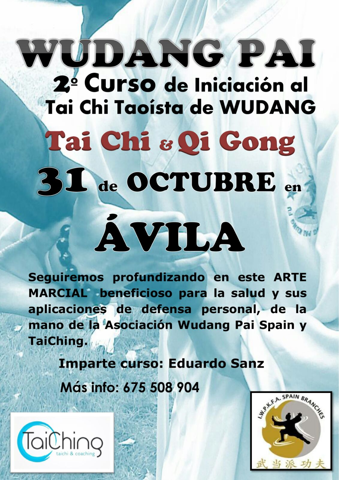 Nuevo curso de Tai Chi y Qi Gong en Ávila
