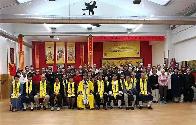 Visita del G.M. You Xuande y los Maestro You Lizong y Zhou Lican a España.